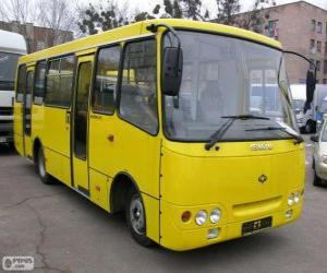 Puzzle Minibus Isuzu Bogdan A092