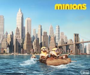 Puzzle Minions arrivent à New York