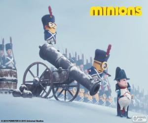 Puzzle Minions et Napoléon