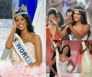 Puzzle Miss Monde 2011 Ivian Lunasol