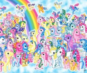 Puzzle Mon petit poney - My Little Pony