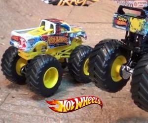 Puzzle Monster Jam de Hot Wheels