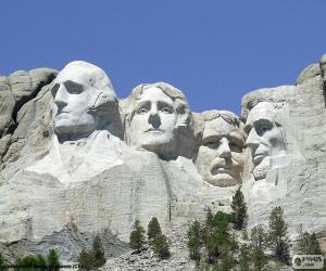 Puzzle Mont Rushmore, États-Unis