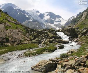 Puzzle Montagnes de Susten, Suisse