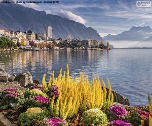 Puzzle Montreux, Suisse