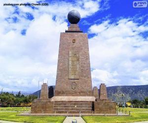 Puzzle Monument à la moitié du monde, Equateur