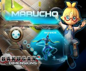Puzzle Morucho et Akwimos son nouveau gardien Bakugan