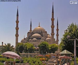 Puzzle Mosquée bleue, Turquie