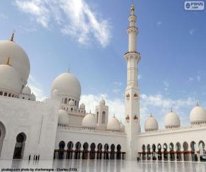 Puzzle Mosquée Cheikh Zayed, d'Abu Dhabi