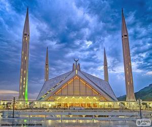 Puzzle Mosquée de Faisal, Pakistan