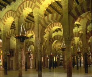 Puzzle Mosquée, lieu de culte de l'Islam