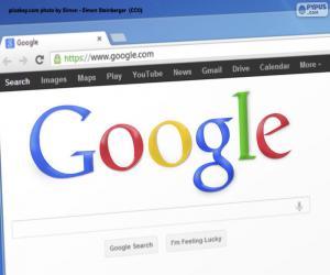 Puzzle Moteur de recherche Google