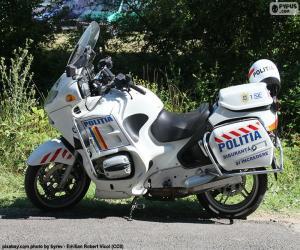 Puzzle Moto police, Roumanie