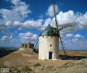 Puzzle Moulin à vent