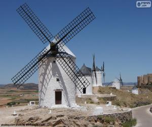 Puzzle Moulins à vent