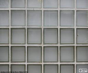 Puzzle Mur de briques de verre
