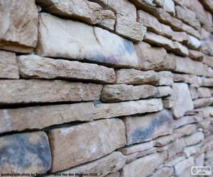 Puzzle Mur en pierre naturelle