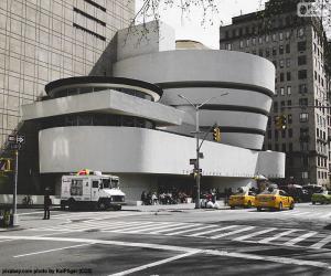 Puzzle Musée Guggenheim à New York