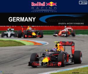 Puzzle M.Verstappen GP d'Allemagne 2016