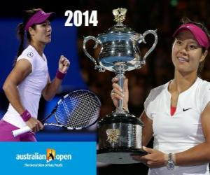 Puzzle Na Li champion Open Australie 2014