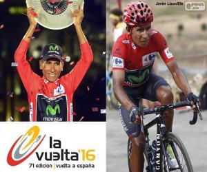Puzzle Nairo Quintana, Tour d'Espagne 16