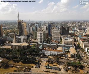 Puzzle Nairobi, Kenya