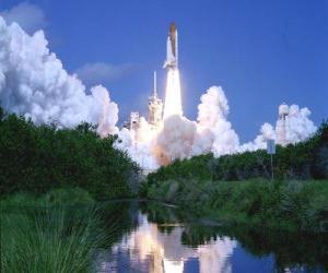 Puzzle Navette spatiale dans le lancement