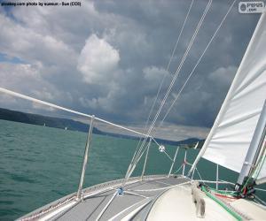 Puzzle Naviguer sur un voilier