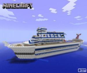Puzzle Navire de croisière de Minecraft