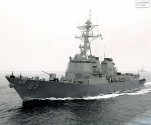 Puzzle Navire de guerre, destroyer