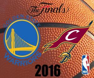 Puzzle NBA finals 2016
