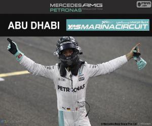 Puzzle Nico Rosberg, champion F1 2016