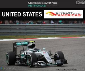 Puzzle Nico Rosberg, GP États-Unis 2016