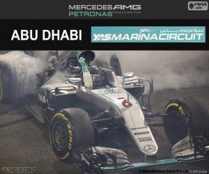 Puzzle Nico Rosberg, GP Abu Dhabi 2016