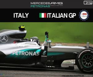 Puzzle Nico Rosberg, G.P. Italie 2016