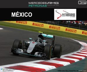 Puzzle Nico Rosberg, GP Mexique 2016