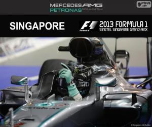 Puzzle Nico Rosberg, GP Singapour 2016