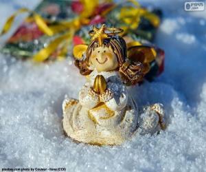 Puzzle Noël ange priant