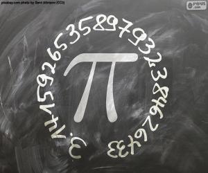 Puzzle Nombre π (pi)