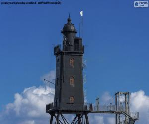 Puzzle Obereversand Lighthouse, Allemagne