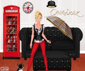 Puzzle Oh My Dollz Londres