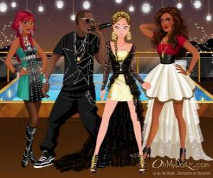 Puzzle Oh My Dollz music group