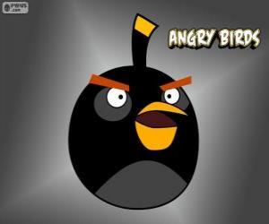 Puzzle Oiseau Noir (Black Bird)