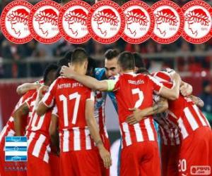 Puzzle Olympiacos FC champion 2013-2014