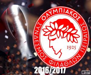 Puzzle Olympiacos FC champion 2016-2017
