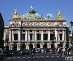 Puzzle Opéra Garnier, façade