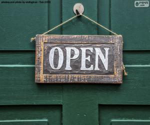 Puzzle Open, ouvert
