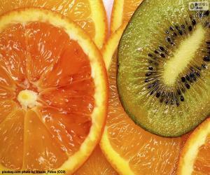 Puzzle Orange et Kiwi
