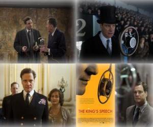 Puzzle Oscar 2011 - Meilleur film: Le Discours d'un roi (1)