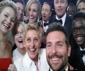 Puzzle Oscars 2014, selfie